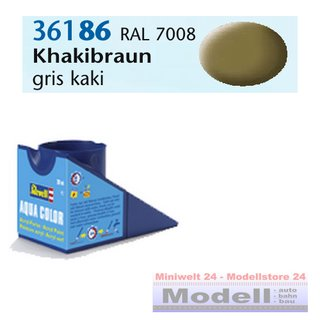 Revell 36186 - khakibraun, matt - Aqua Color