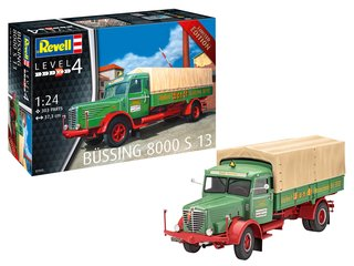 Revell-07555 - Büssing 8000 S13 - Limited Edition - 1:24