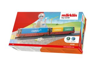 Märklin-44109 My World - Containerwagen-Set